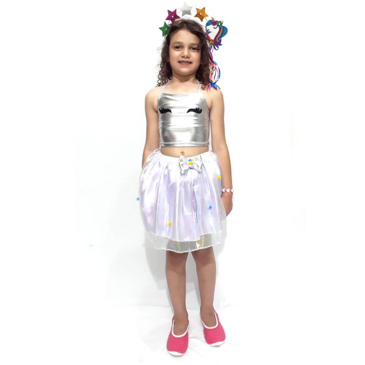 Fantasia Conjunto Unicornio Infantil Feminina No Elo7 Fantasias Fantastica Ec4196