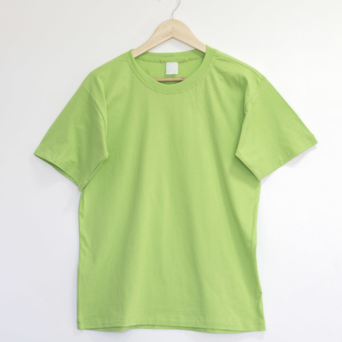 226593f2f5 Camiseta 100% Algodão Verde Limão no Elo7