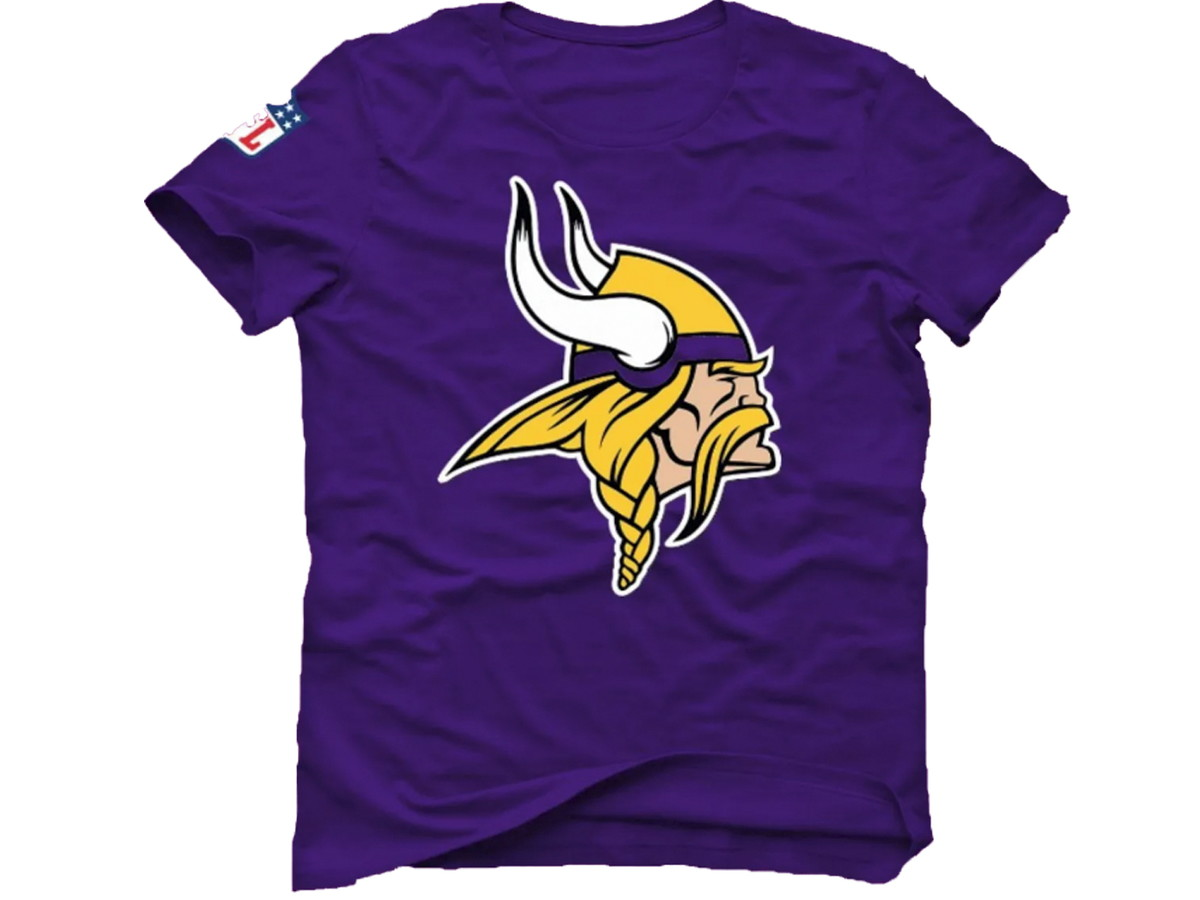 c15f5b732 Camisa Camiseta Nfl Futebol Americano Minnesota Vikings no Elo7 ...