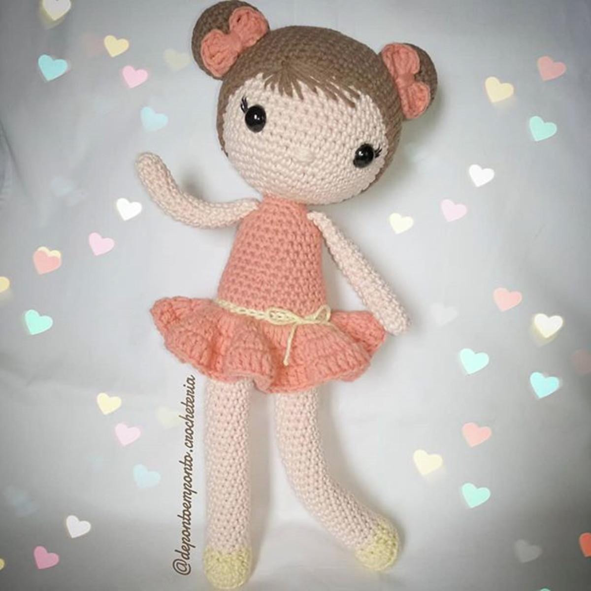Amigurumi boneca Chloe no Elo7 | Dona Gatta Crochê (E049D7) | 1200x1200