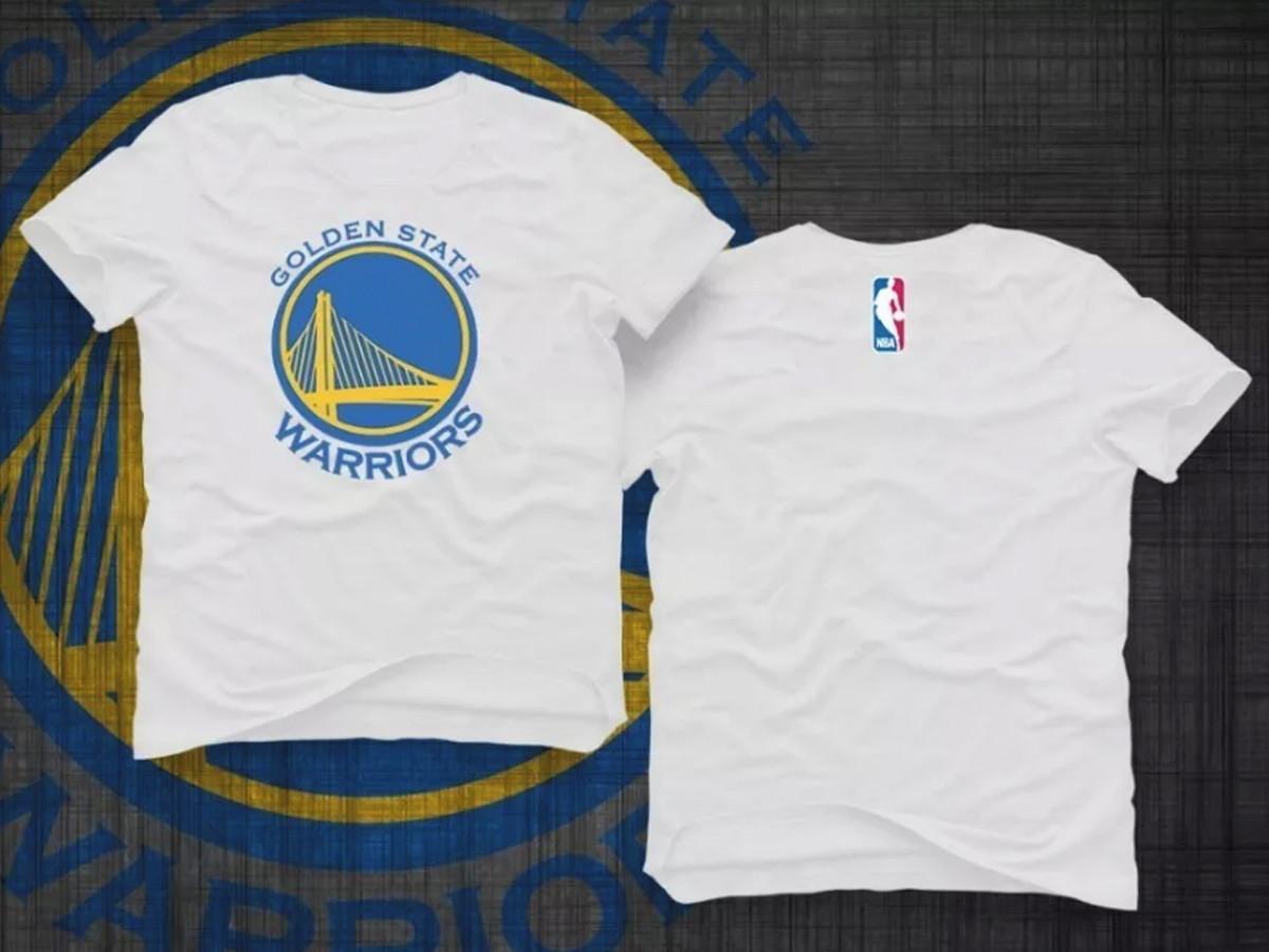 8472a3392 Camiseta Nba Golden State Warriors no Elo7