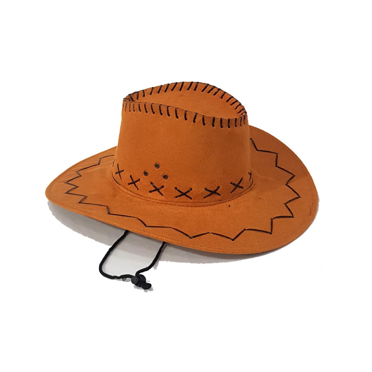 f59f128db6 Chapéu Cowboy Veludo Adulto