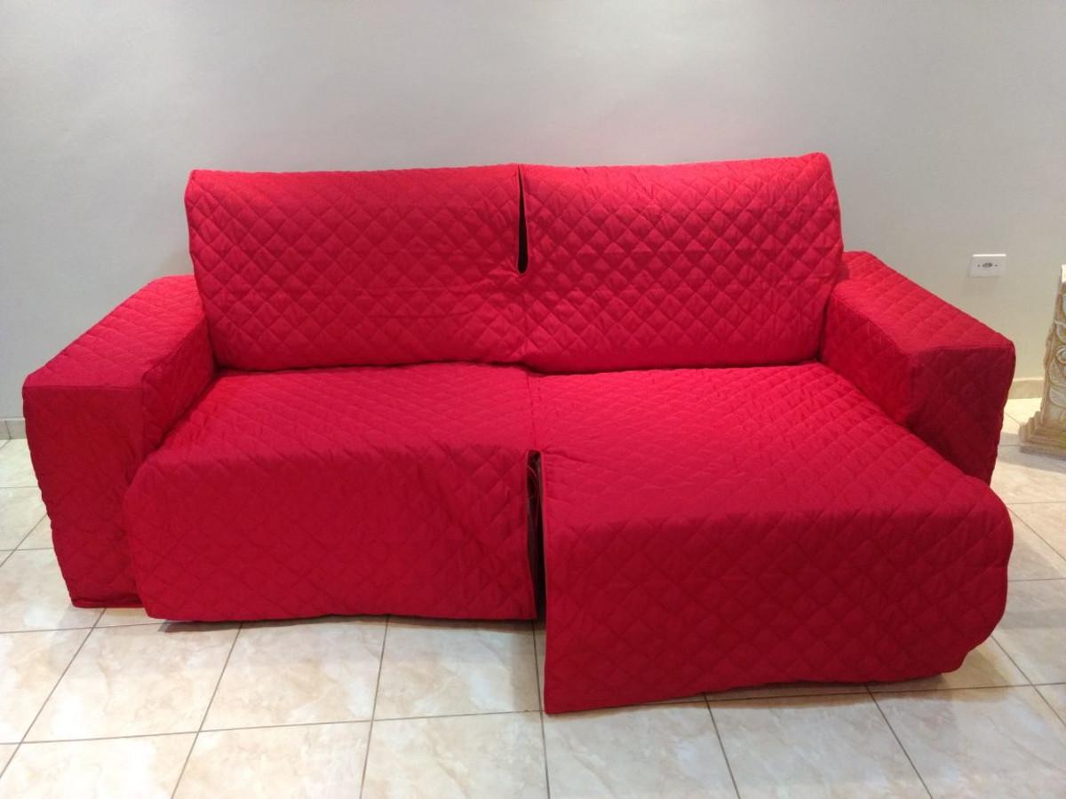 capa de sofa retratil assento 2,00 2mod braço coberto+polt ...