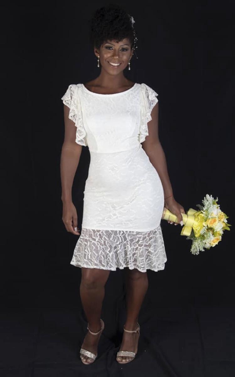 Vestido Noiva Civil Renda