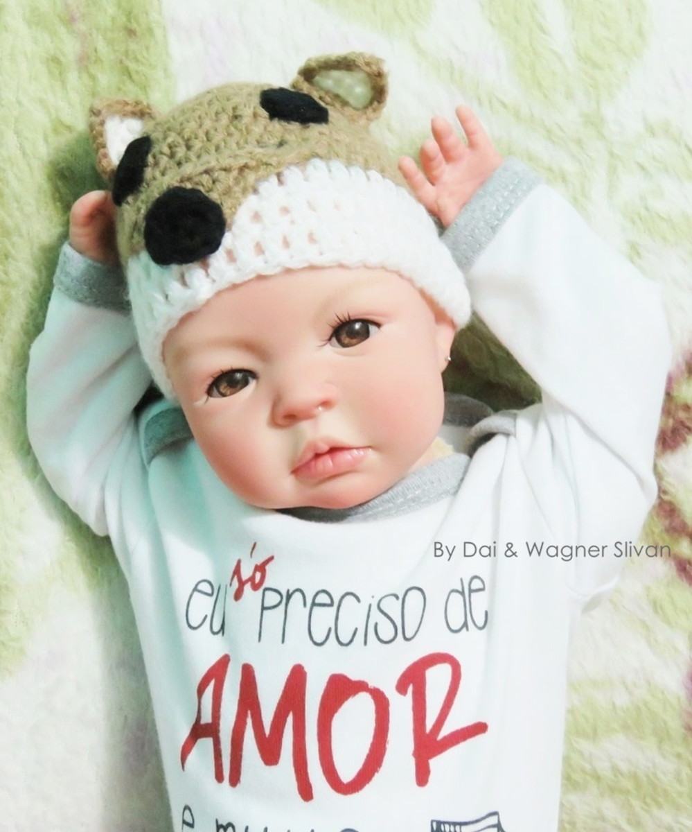 6fd6c767a Bebê Reborn Menina Detalhes Reais Com Enxoval Super Promoção no Elo7 ...