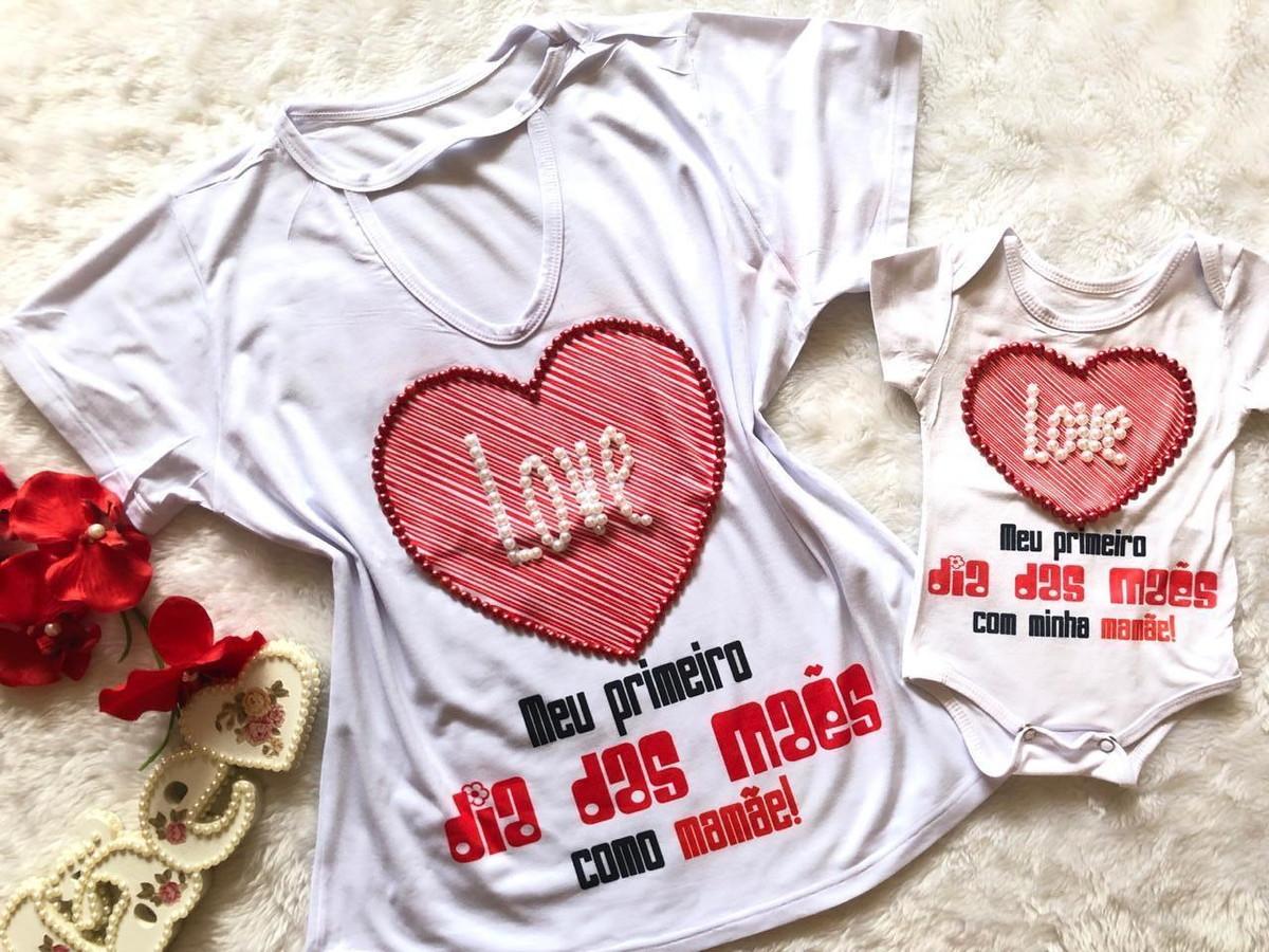 fd124aaa6 Kit Mãe e Bebê Primeiro Dia Das Mães no Elo7