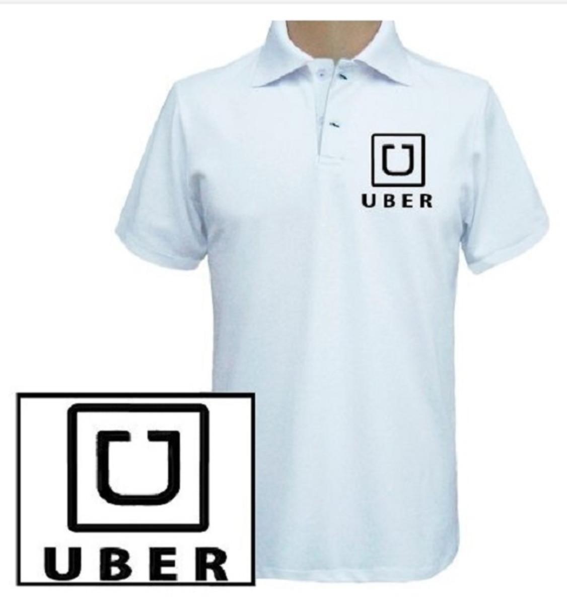 91fe55ae9be Camisa polo estilo uniforme para uber ou 99pop