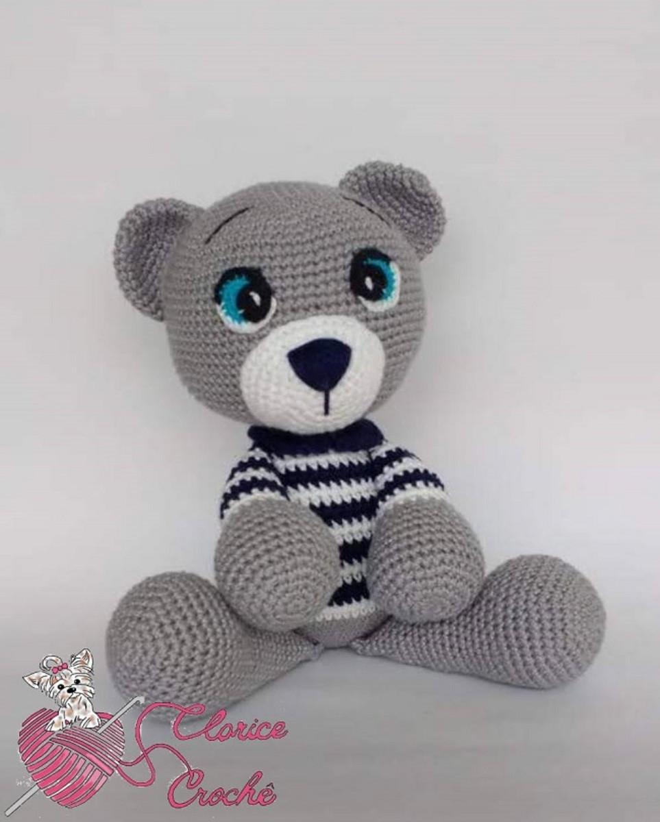 amigurumi #urso urso Barroco Maxcolor - YouTube | 1200x963