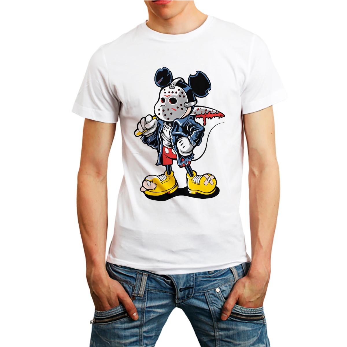 7ea1054135 Camiseta Camisa Masculina Mickey Jason Personagem Disney no Elo7 ...