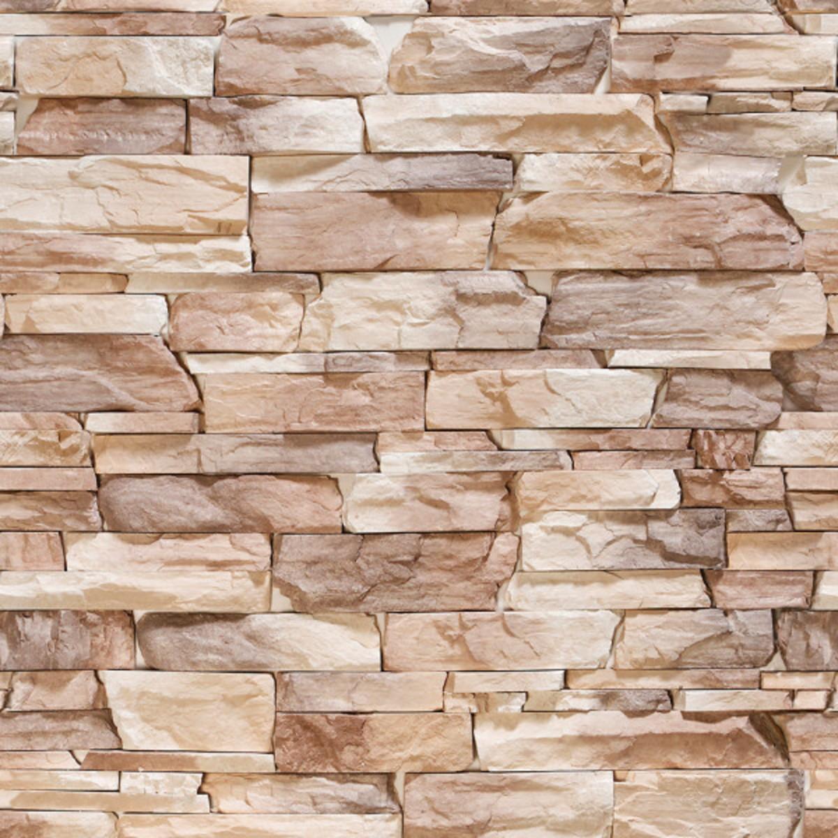 a33f45432 Papel De Parede 3d Pedras Rustica Decoração de Parede no Elo7 ...