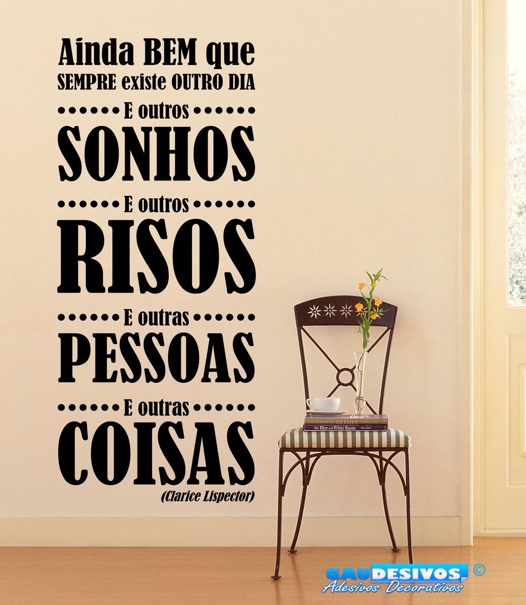 Adesivo Decorativo De Parede Frase Sonhos Risos Pessoas