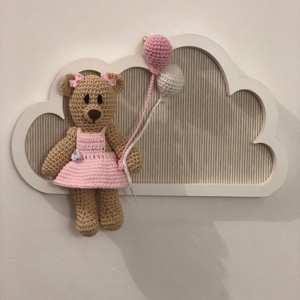 Enfeite Porta de Maternidade - Amigurumi no Elo7 | Lolo Bunny (E08C5B) | 1200x1200