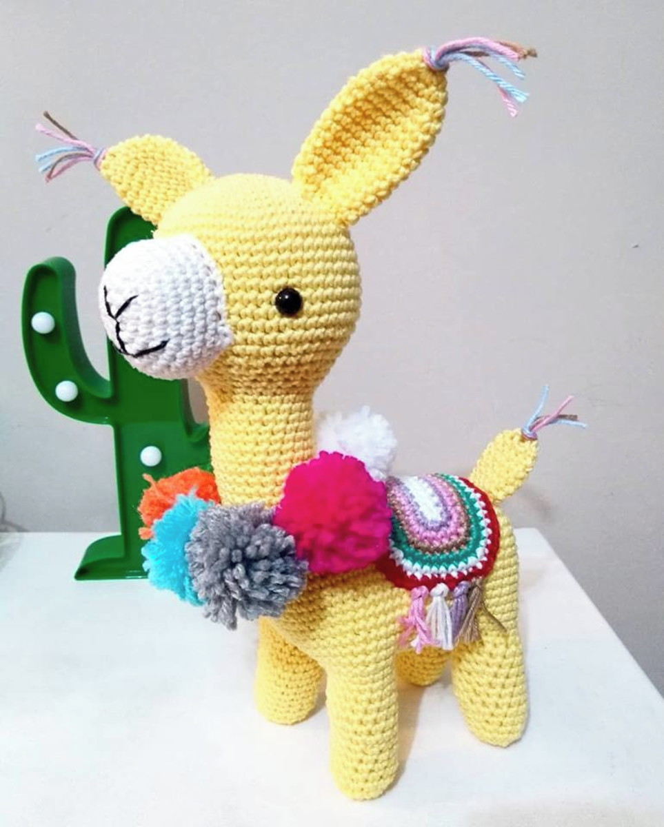 Amigurumi Awesome Alpaca Free Pattern – Amigurumi Free Patterns ... | 1200x963