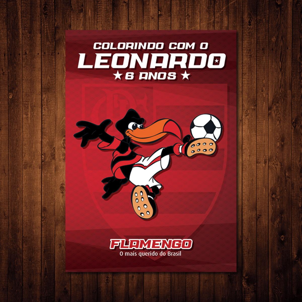 Livro De Colorir Flamengo