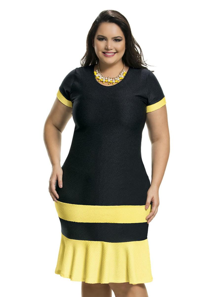 6b283009f3 Tag  Vestido Tubinho Plus Size Como Usar
