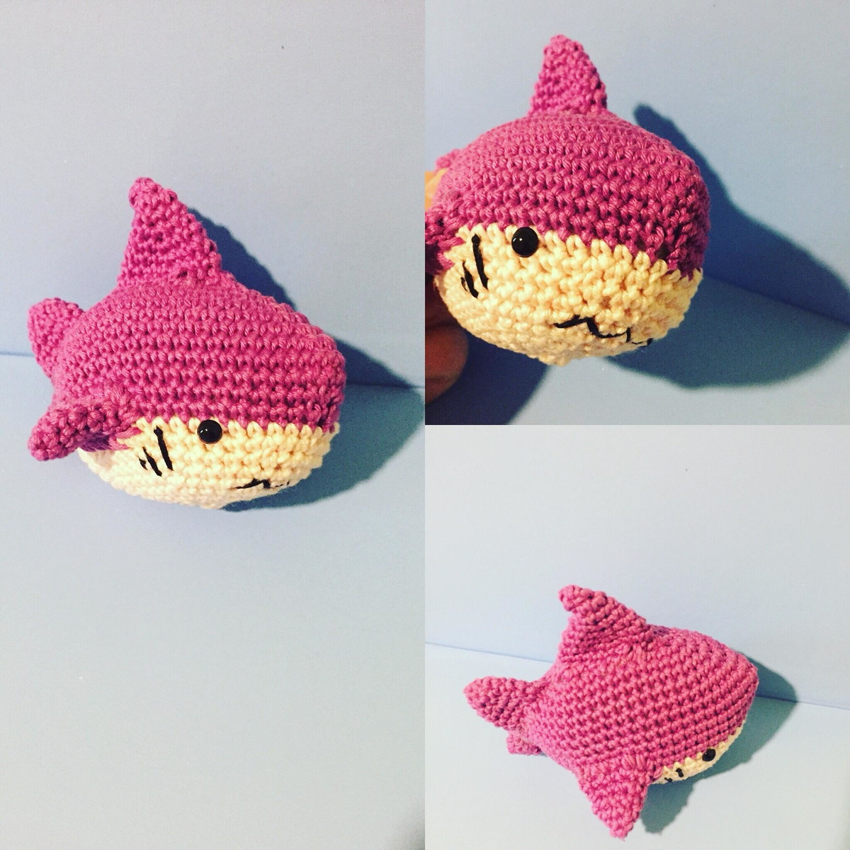 Ravelry: Baby Shark amigurumi pattern by Ami Little Creature | 1200x1200