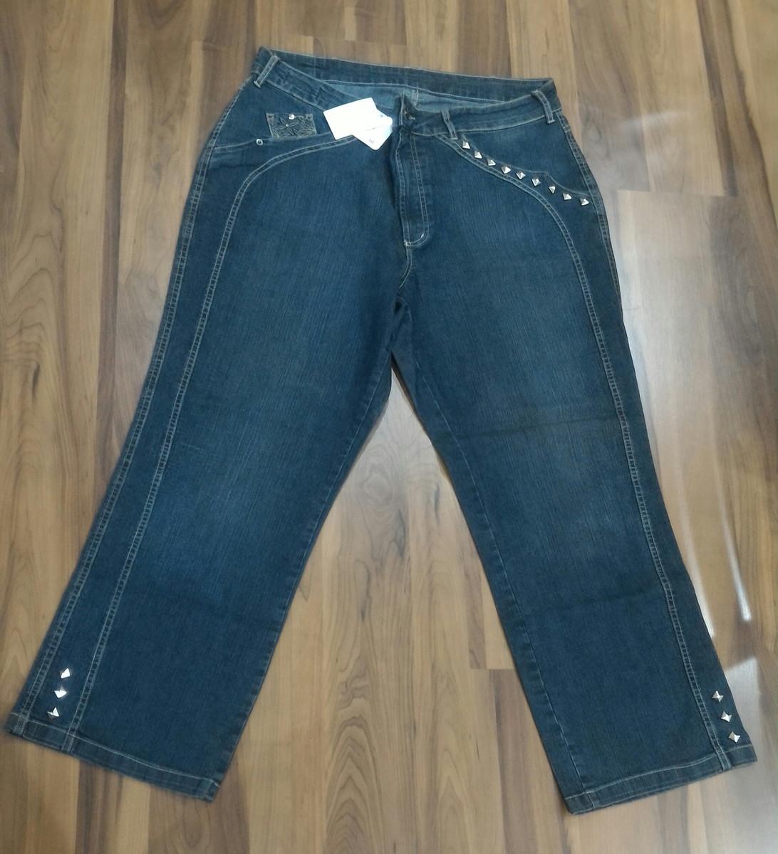 30b1a3dc1 Calça Jeans Plus Size Customizada Nº 50 no Elo7   GG Sexy (F08111)