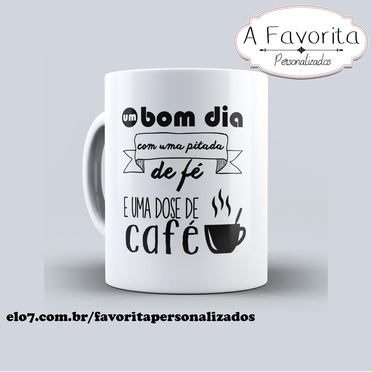 Caneca Personalizada Frases Café