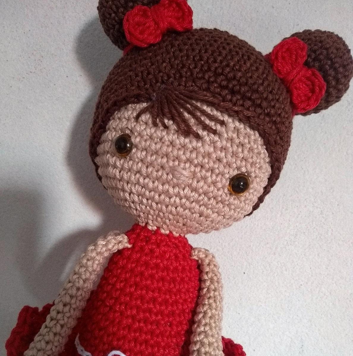 Boneca Amigurumi de Crochê | Boneca amigurumi, Amigurumi de croche ... | 1200x1188