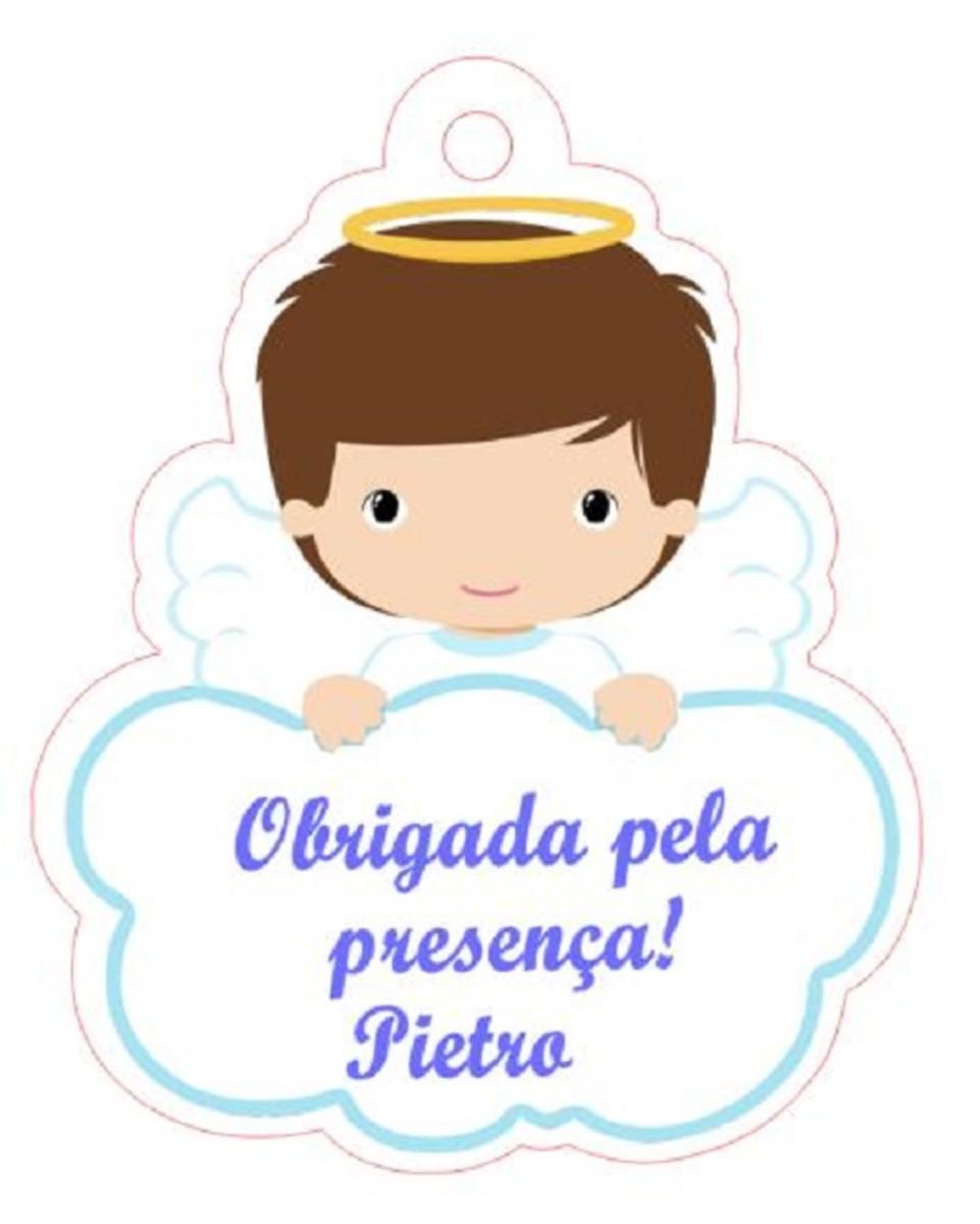Tag Batizado Anjinho No Elo7 Papel K F10c97
