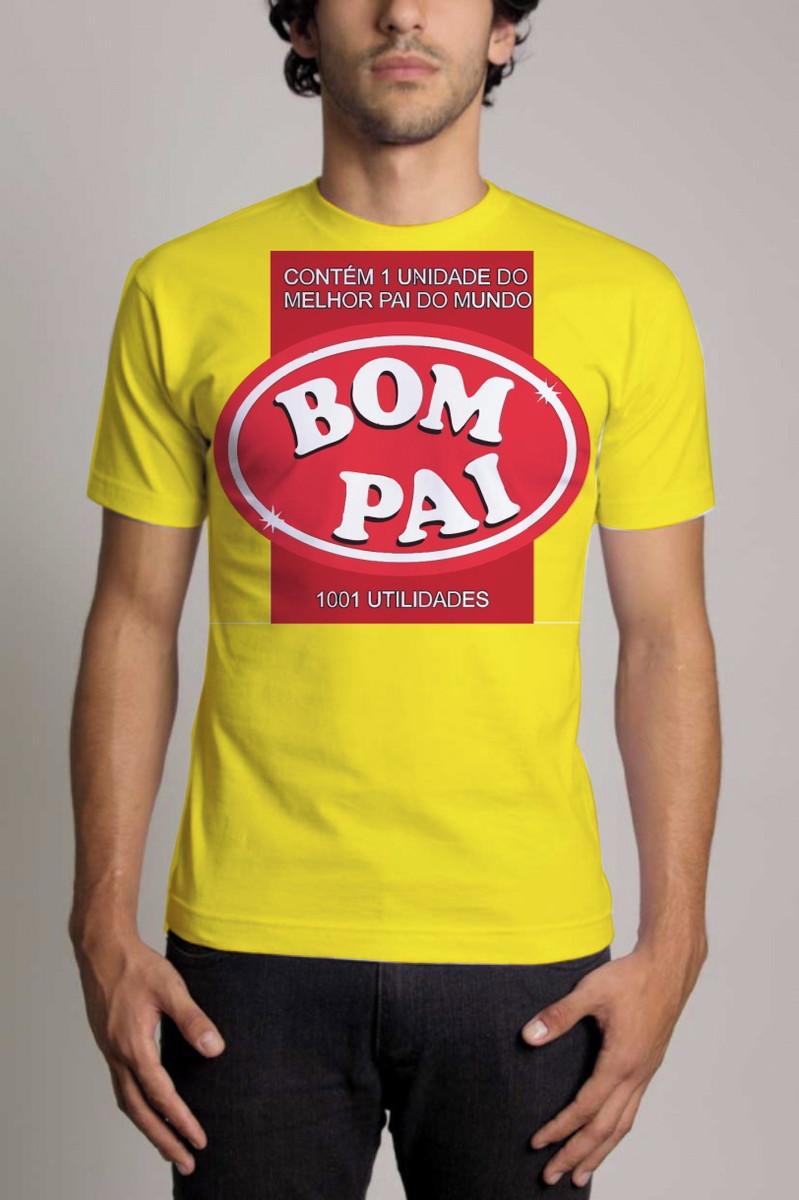 1a6b8ffeb Camisa Personalizada Dia dos Pais Bom Pai no Elo7