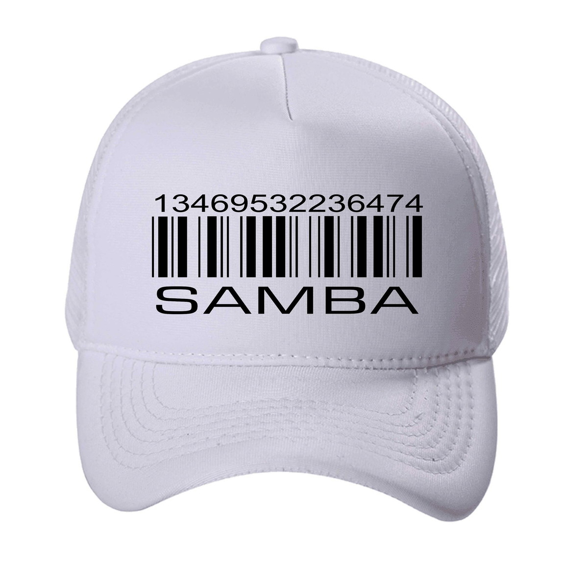8d9cab0e60 Boné Trucker Aba Curva Código de Samba + Brinde no Elo7 | Blackchic ...