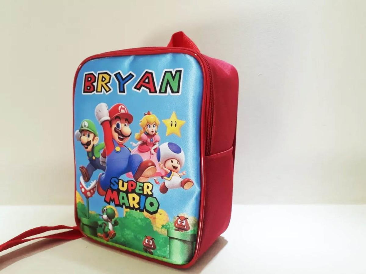 e2c49cba5 Mochila Personalizada Super Mario no Elo7 | Fran Personalizados ...