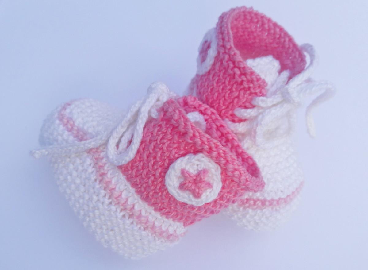 4ccd19865 Tênis Converse All Star Rosa para bebê de 0 a 3 meses no Elo7 ...