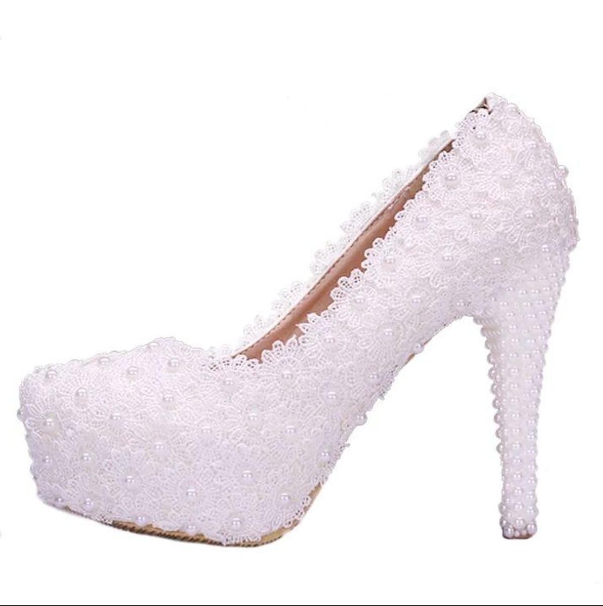 382cfbe2c Sapato de Noiva guipir personalizado 2 no Elo7 | Cantinho Príncipe e ...