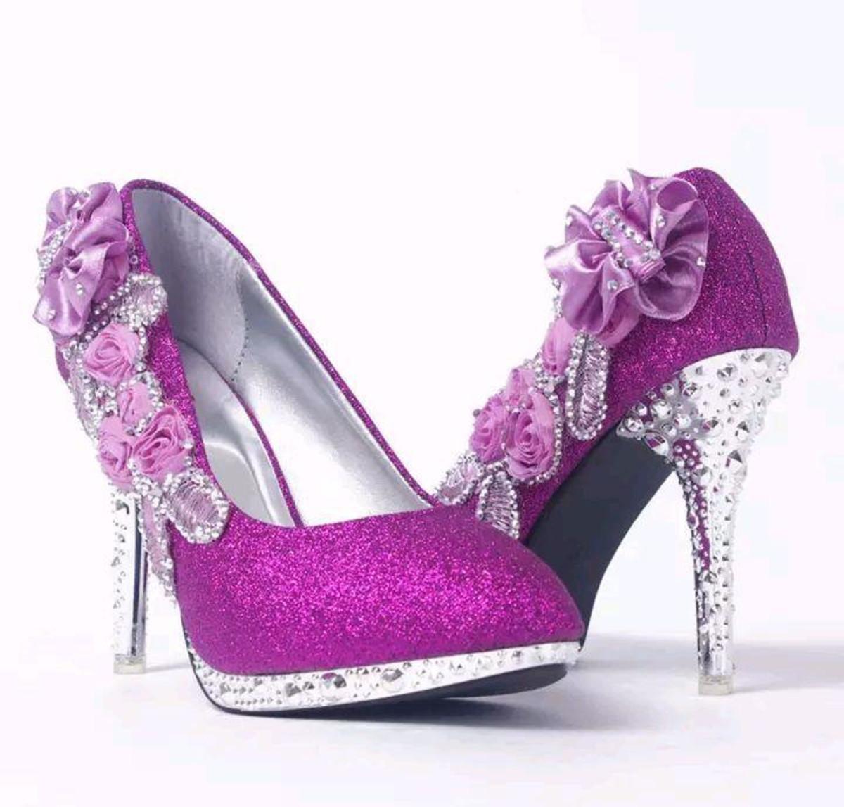 a686b5add Sapato de Debutante e Noiva azul Royal personalizado no Elo7 ...