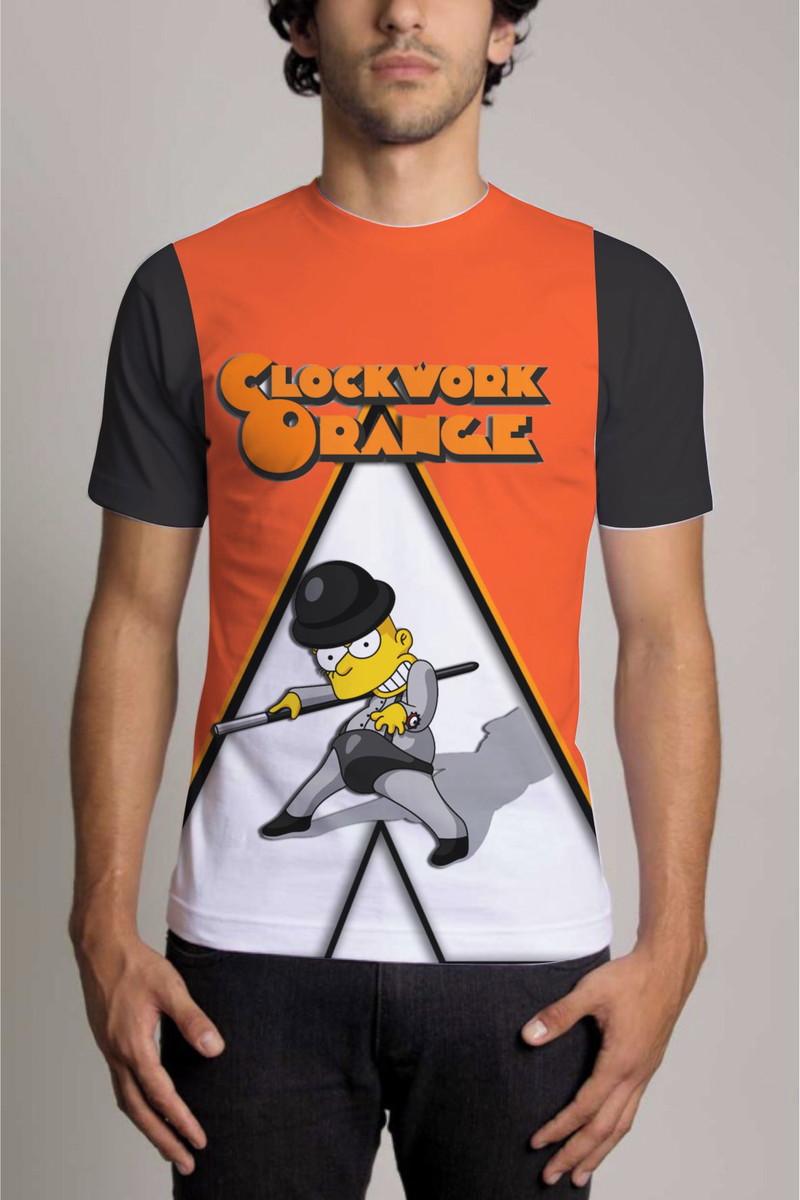 9978329ca Camisa Personalizada Clockwork Orange 3 no Elo7