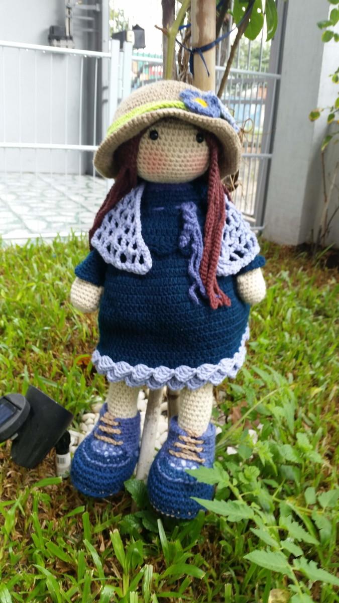 Boneca amigurumi/ boneca crochê (Boneca Alana) no Elo7 | Novelo de ... | 1200x675