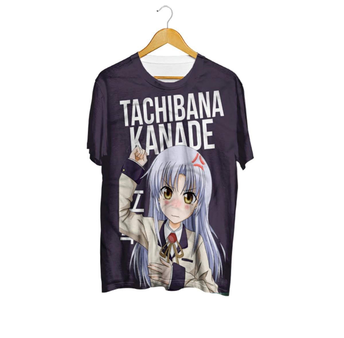Camiseta Tachibana Kanade - Angel Beats