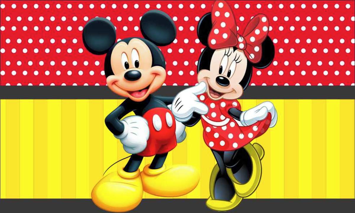 Painel Minnie E Mickey G Frete Gratis No Elo7 Atelier Toque