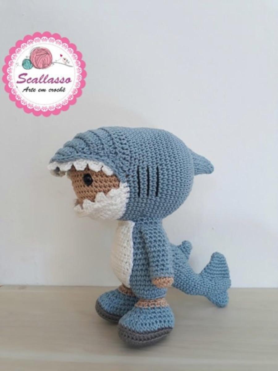 Ravelry: Amigurumi Baby Shark pattern by Duende de los Hilos | 1200x900