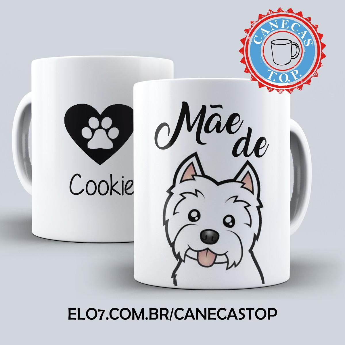 Caneca Pet Mae De Cachorro Personalizada Com Nome No Elo7