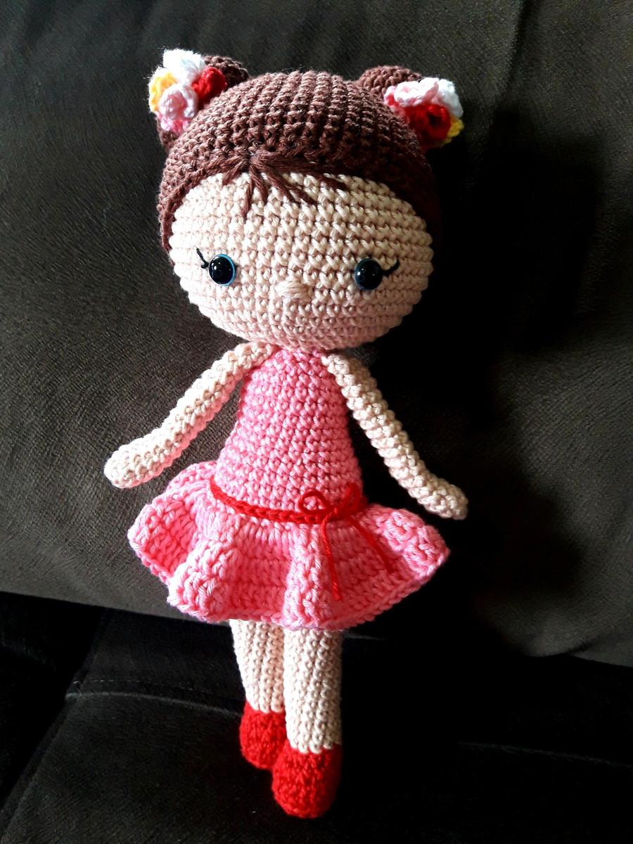 Boneca Chloe Amigurumi no Elo7 | Agulhas e Linhas Trico e Croche ... | 1200x900