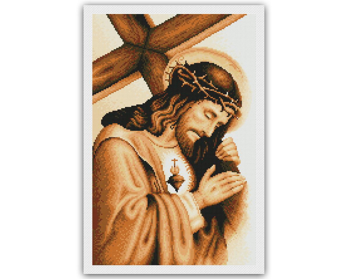 Jesus E A Cruz Grafico Ponto Cruz No Elo7 Thimage Graficos