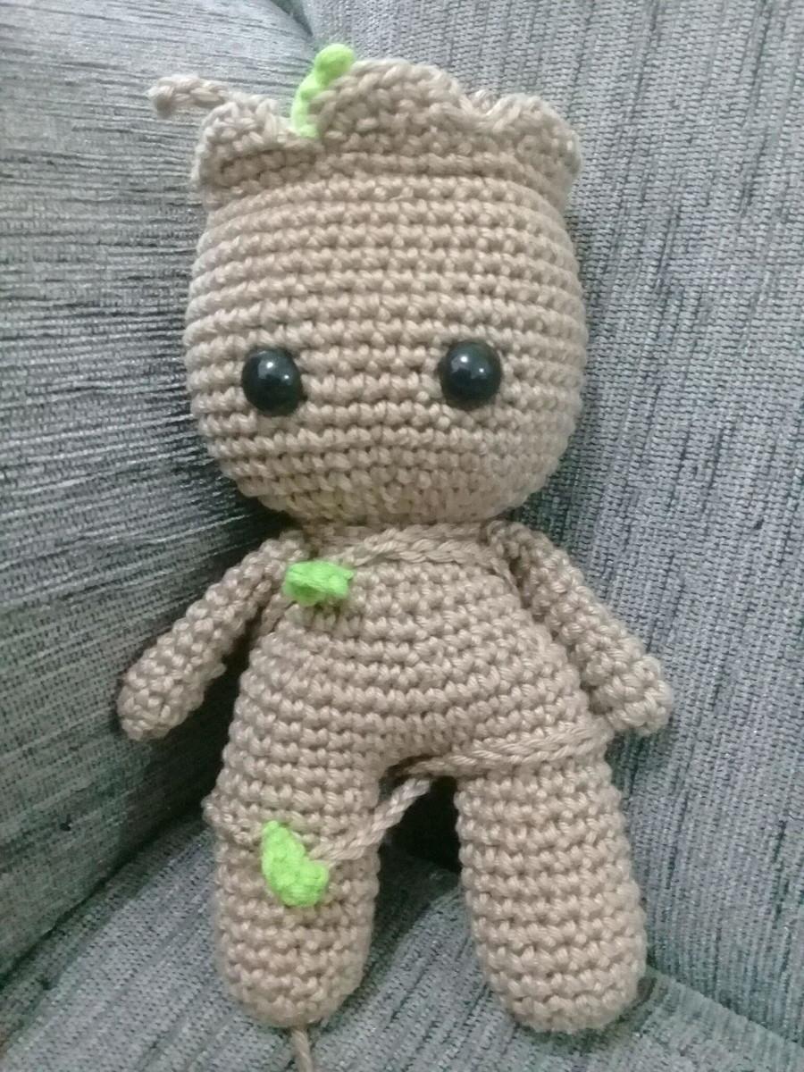 Amigurumi Baby Groot no Elo7 | Tuki.art (F1A2E7) | 1200x900