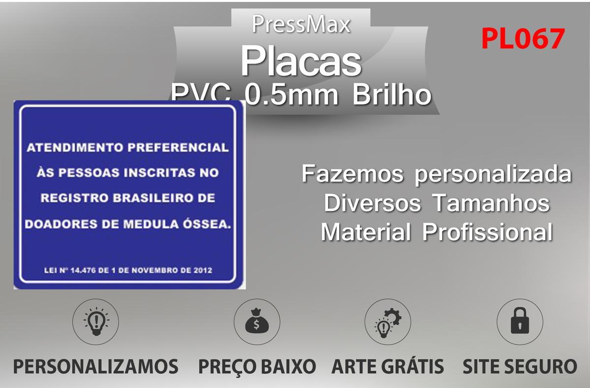 30310e00e Placa de Parada Obrigatória para Identificação PVC no Elo7 ...