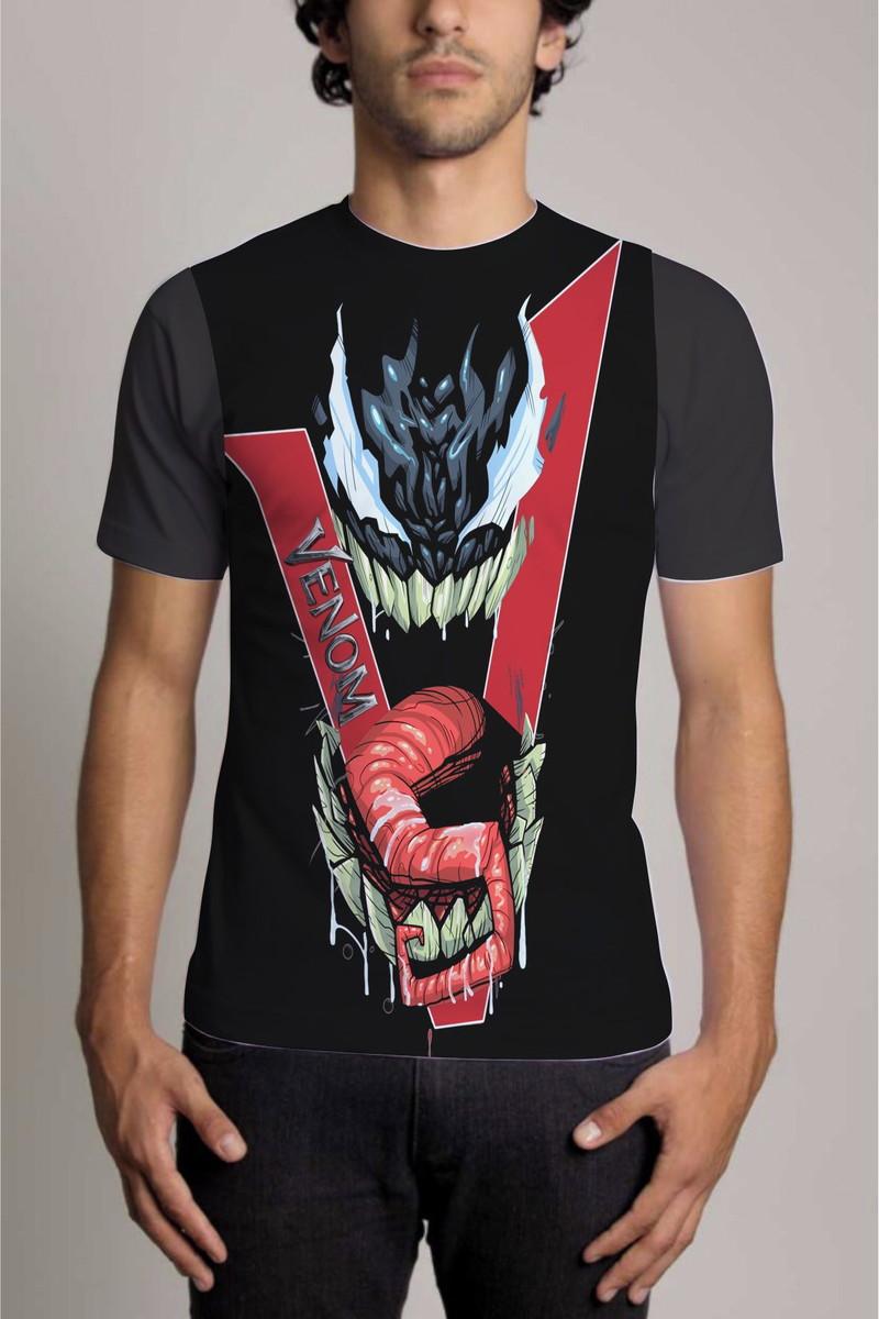 4227e4ae6 Camisa Personalizada Venom Vingadores Avengers no Elo7