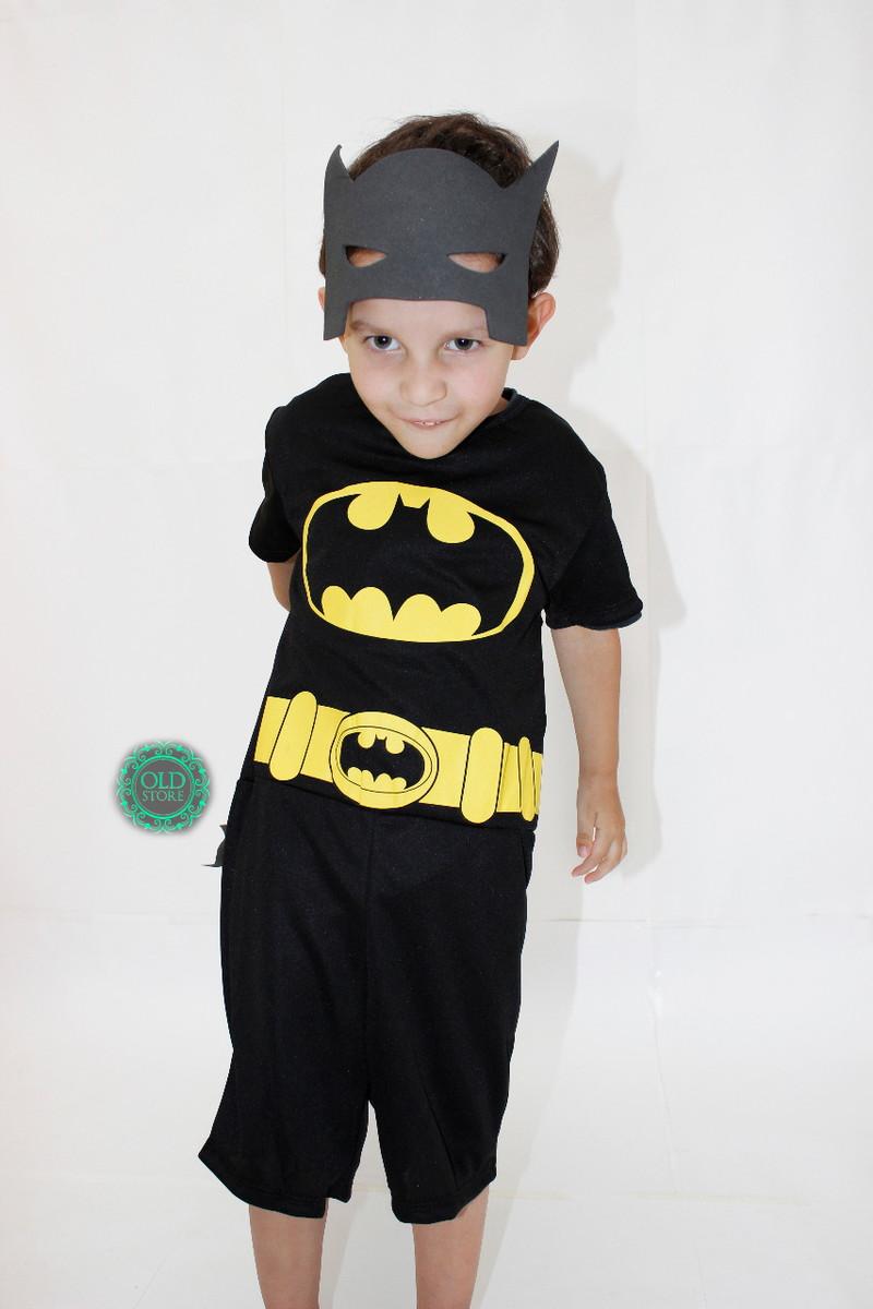 496467bfc2231c Fantasia Batman Infantil Curta Com Máscara E Frete Grátis