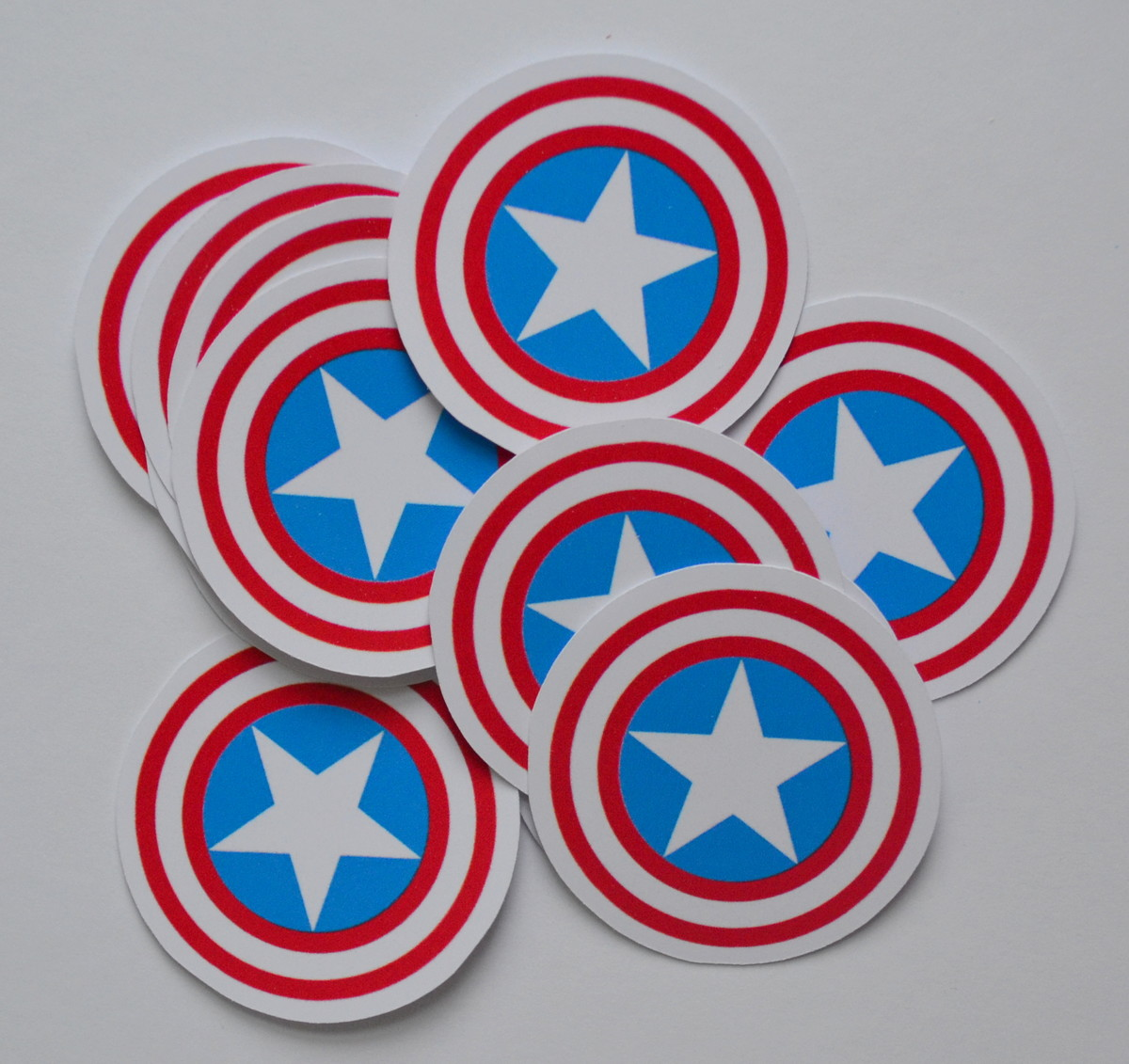 Apliques Escudo Do Capitao America Vingadores No Elo7 Atelier