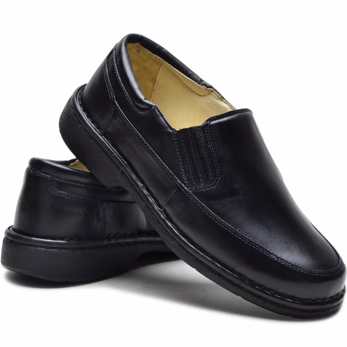 515e5291c Sapato Masculino Anti Stress Couro Ind. P/ Diabéticos no Elo7 ...
