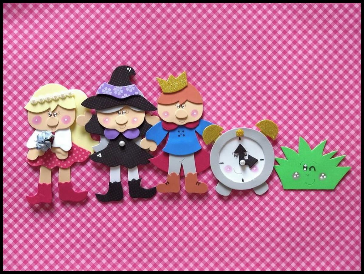 Personagens Linda Rosa Juvenil No Elo7 Shopping Historias