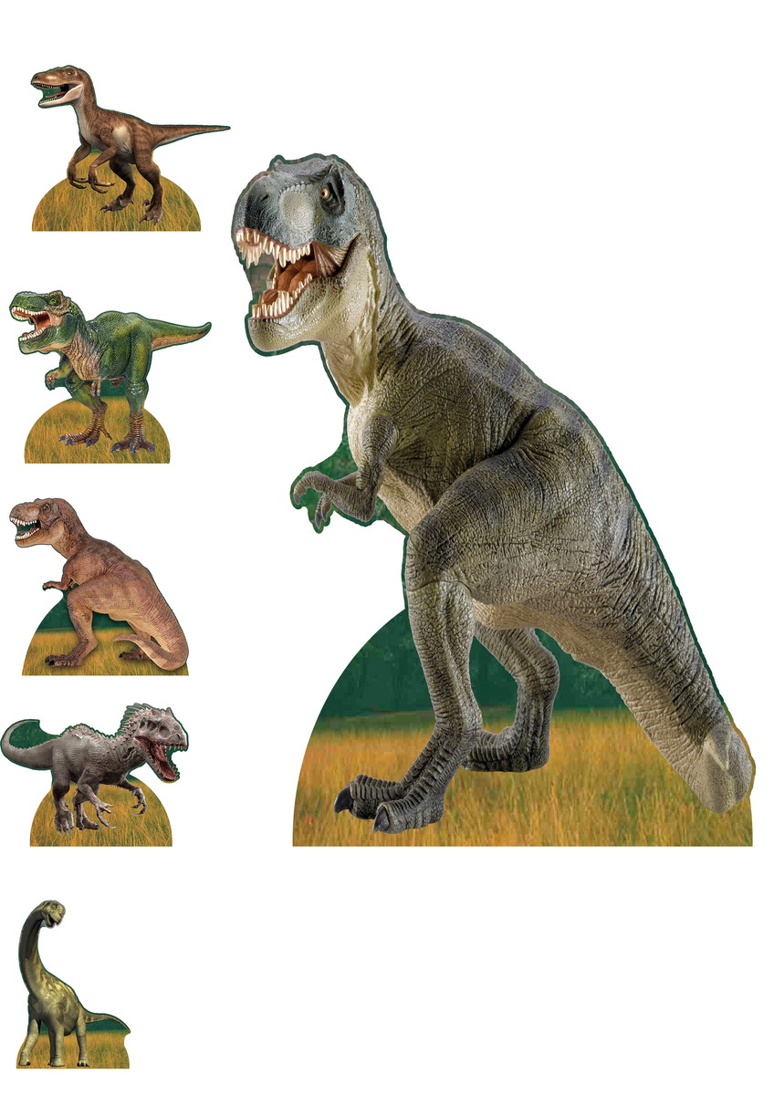 Kit Display Totem Dinossauro Jurassic Park No Elo7 Festaconosco