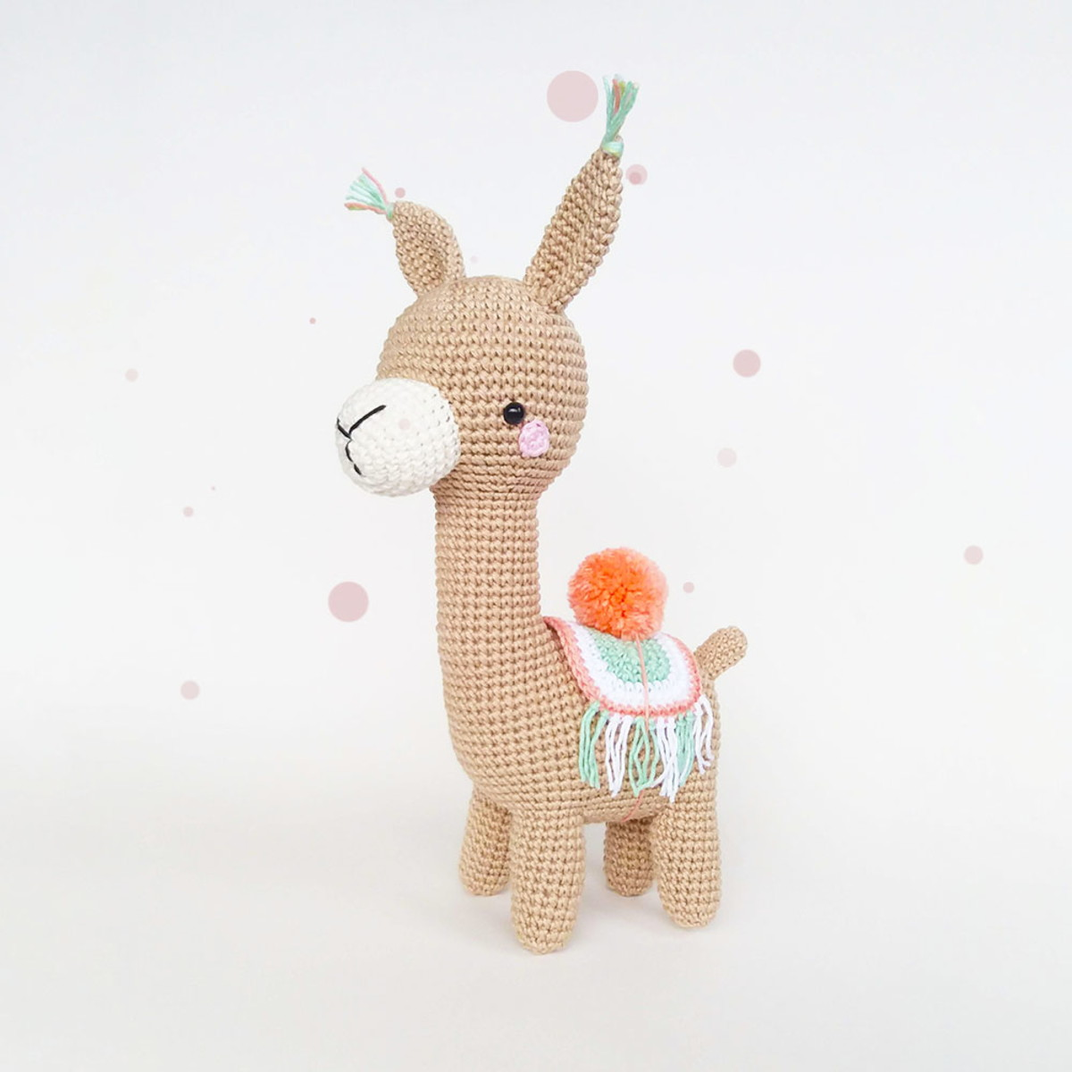 Alana the Alpaca - Sweet Softies | Amigurumi and Crochet | 1200x1200