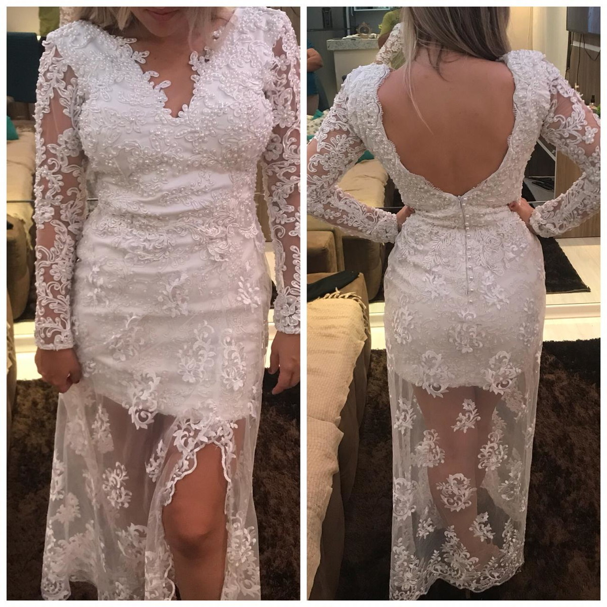 Vestido De Noiva Ateliê Barbara Melo