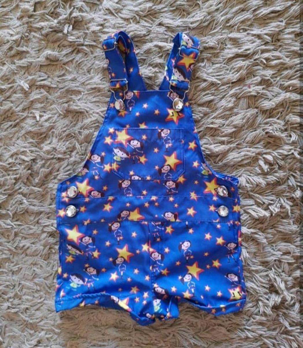 09d90f80dfa94f Jardineira Infantil Show da Luna