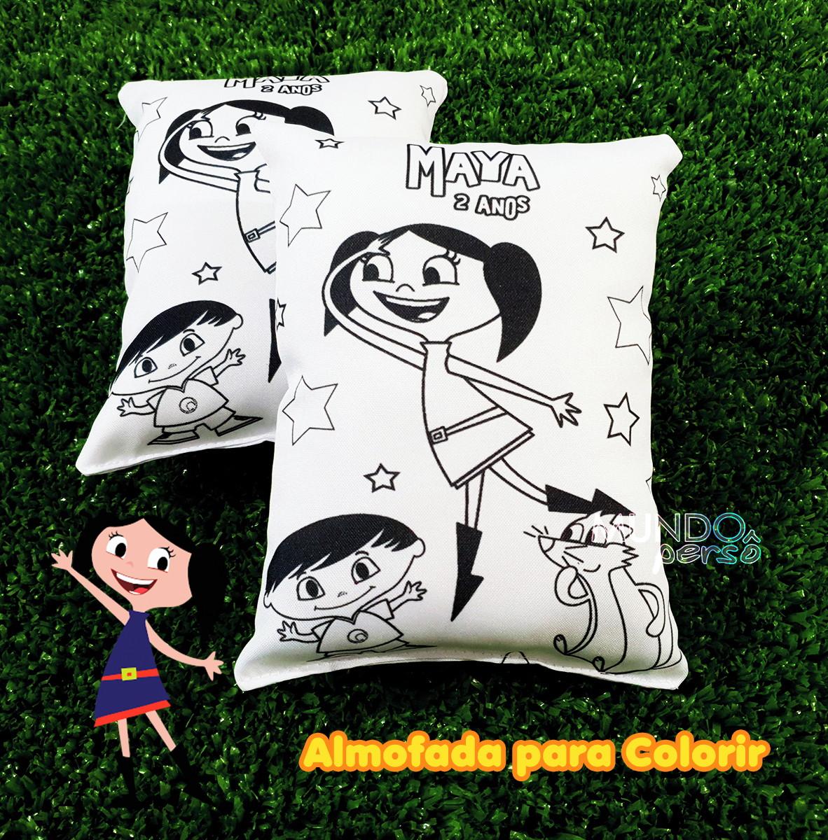 Almofada Para Colorir 15cm X 20cm Show Da Luna No Elo7 Mundo